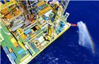 """2017年6月9日,位于我国广东省珠海市东南320千米的南海神狐海域正在从水深1266米海底以下203-277米进行试采天然气水合物(即:""""可燃冰"""")的作业平台。据悉,神狐海域水合物试采自2017年5月10日点火测试以来,至6月10日14:52分已连续产气达31天,总产气量达21万立方米,平均日产6800立方米。"""
