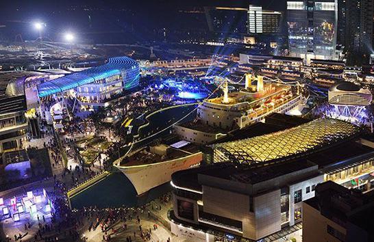 深圳蛇口海上世界,招商地产开发运营的滨海主题文化娱乐综合体(网络