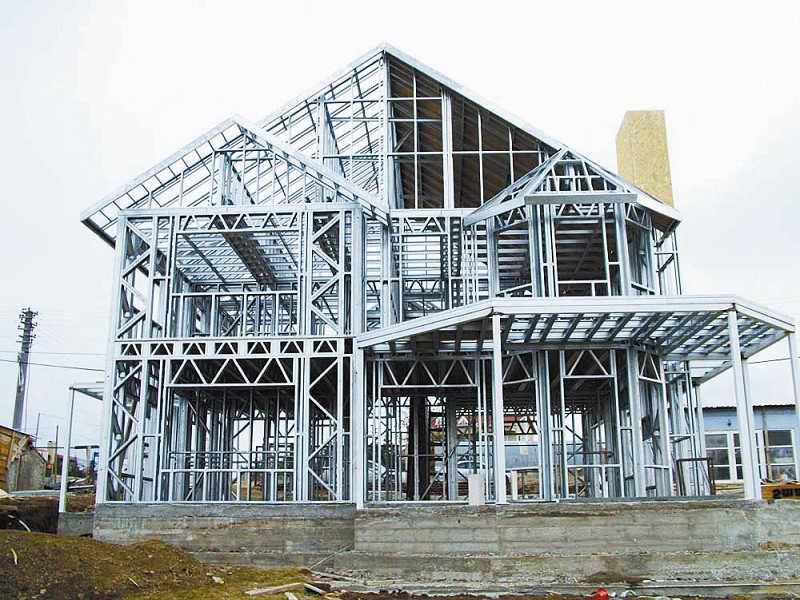 钢结构的装配式建筑将是未来二三十年后房子发展的方向.