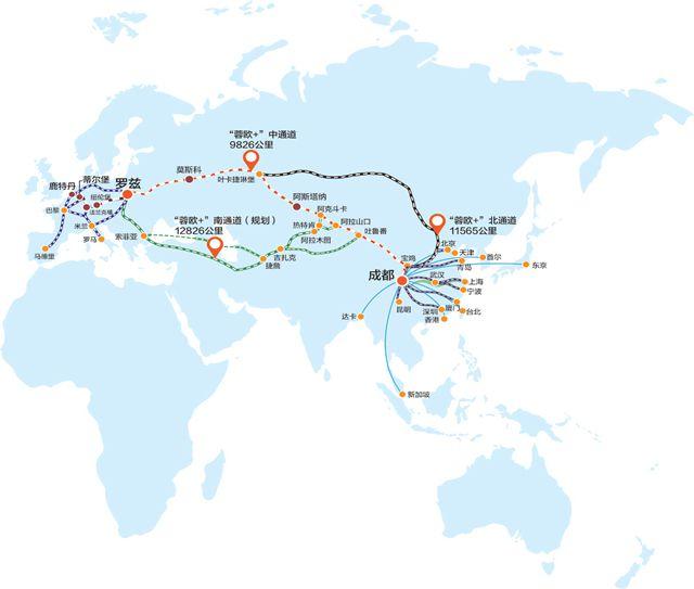 11月3日,成都到莫斯科的直飞航班由包机转定期,也是俄罗斯航线的首次