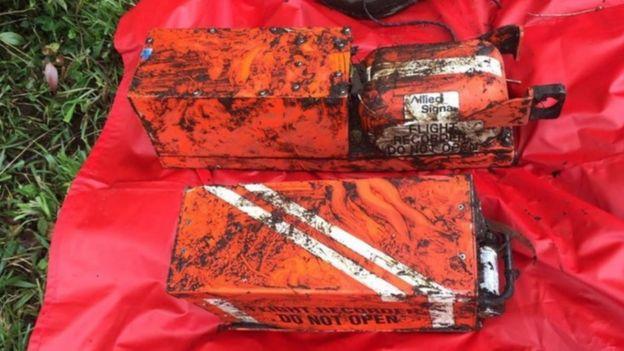 失事飞机的黑匣子已经被找到(图:epa)
