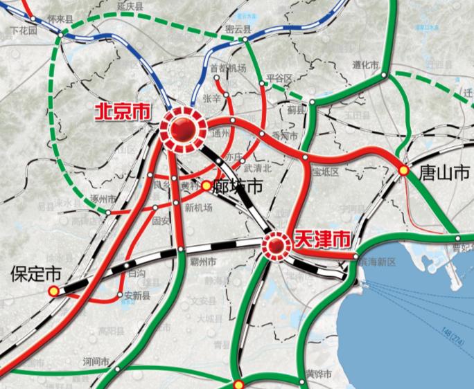 际铁路网已提前规划