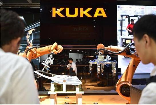 被中資企業收購的德國機器人公司庫卡