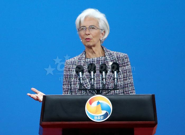 """IMF拉加德:""""一带一路""""倡议 强化金融互联"""