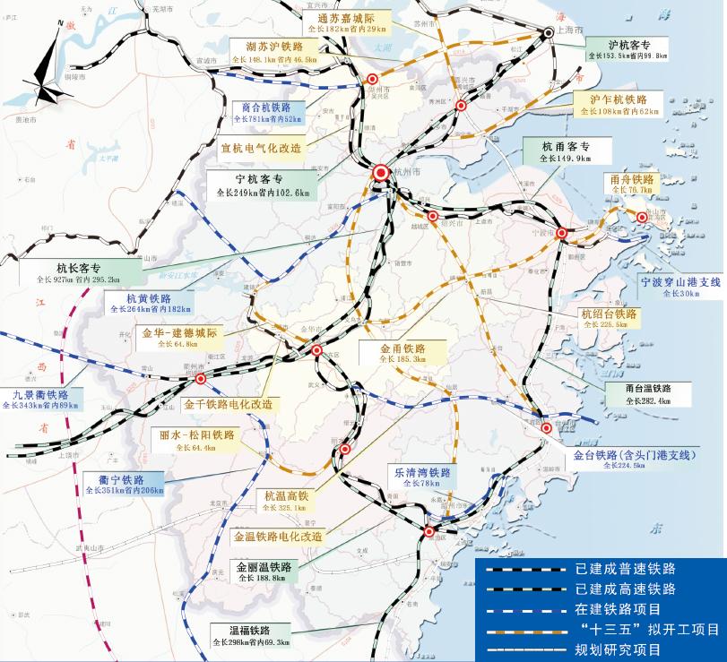 江西省铁路规划调整_浙江铁路投资首超高速公路,这透露了什么信号