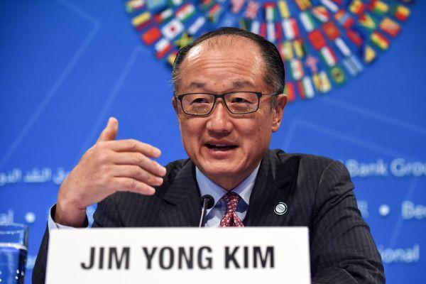 世界银行行长金墉 来源:新华社