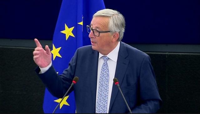 欧盟委员会主席容克。图片转自BBC网站