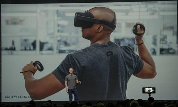 扎克伯格发布VR头盔