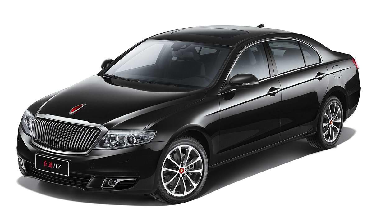 红旗h7的定位是中大型豪华轿车,作为红旗品牌复兴计划的首款车型,从