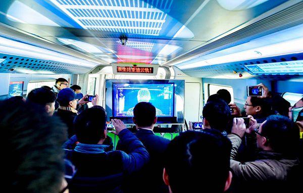 王传福:正与20个城市洽谈云轨项目