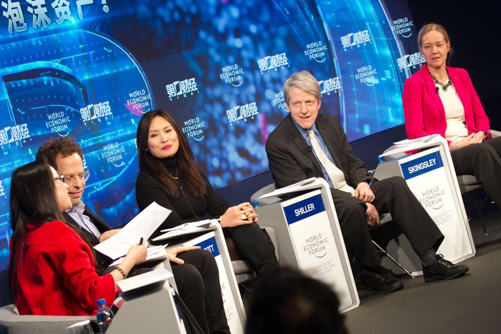直击达沃斯|世纪大辩论:数字资产是泡沫 or 未来货币?