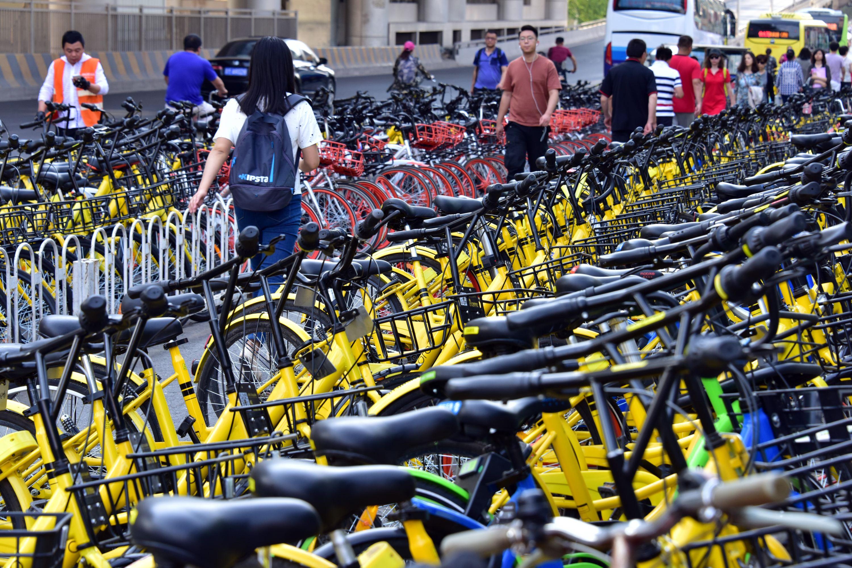 2017年共享单车的发展减少了161亿元的交通拥堵成本。摄影/章轲