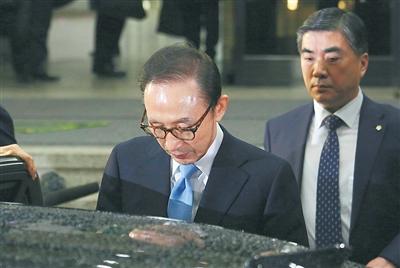 极速赛车那个国家彩票:韩国法院正式决定批捕前总统李明博