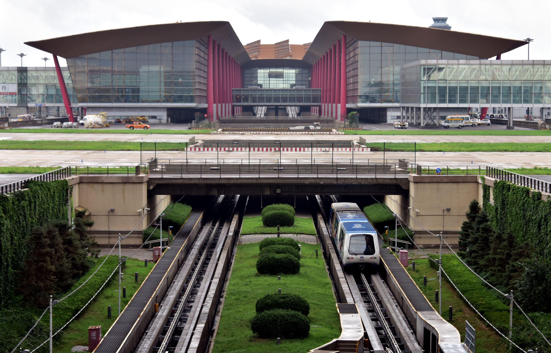 北京首都國際機場T3航站樓。攝影/章軻