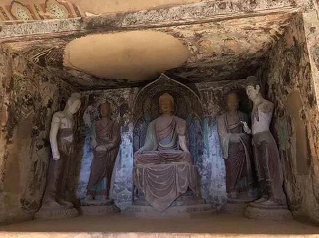 莫高窟220窟复原洞窟
