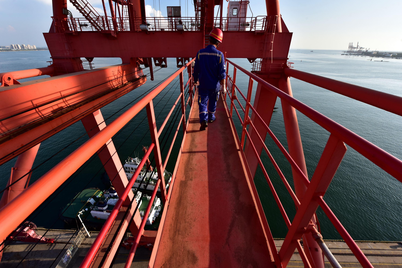 國投洋浦港的建設目標是成為海南省第一大港。攝影/章軻