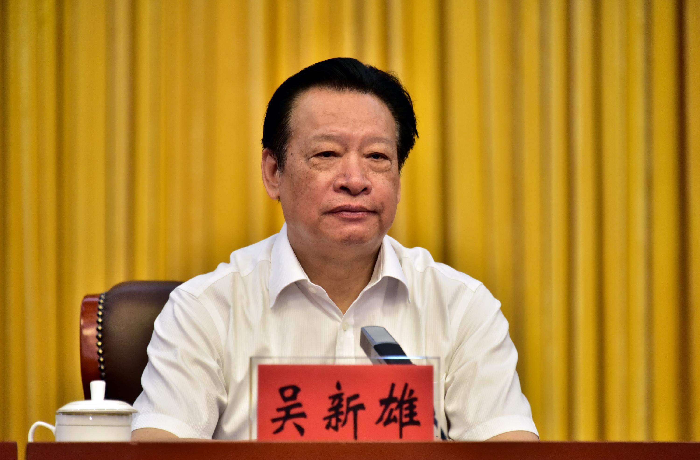 中央第二環境保護督察組組長吳新雄。攝影/章軻