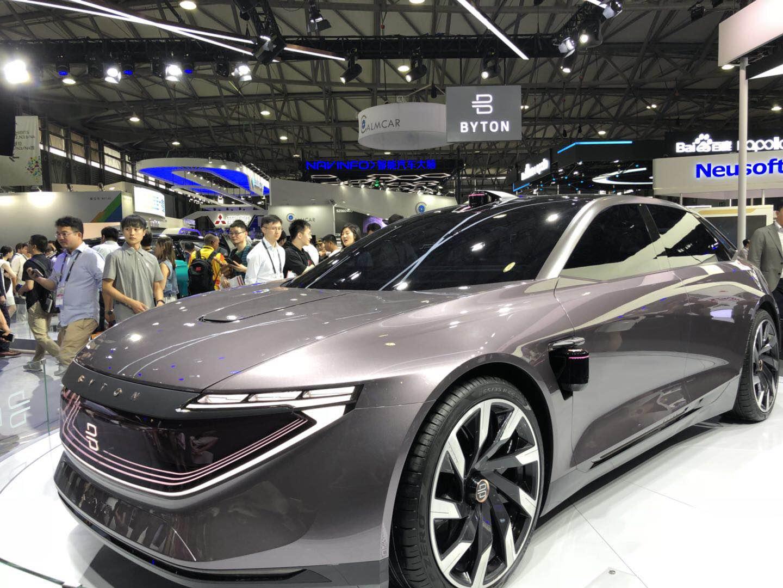 CES亚洲见证中国造车