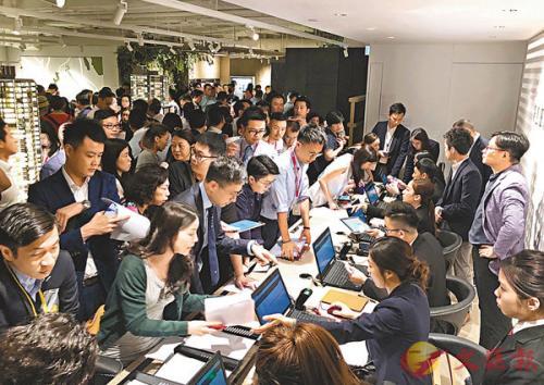 香港樓價不斷飆升,政府若開征空置稅,預計可增加市場供應。圖片來源:香港《文匯報》