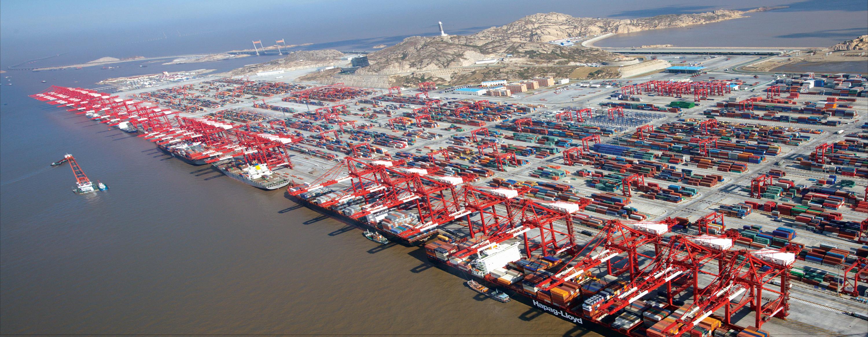 洋山港一至三期码头