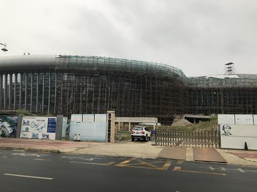 在建中的长昇医学健康中心