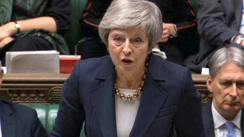 英国首相特雷莎·梅面临困境,脱欧主导权或拱手相让议会