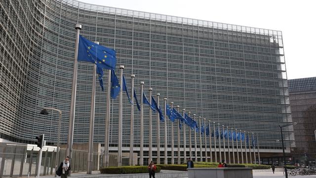 欧盟委员会总部所在地——贝雷蒙大楼  来源:新华社图库