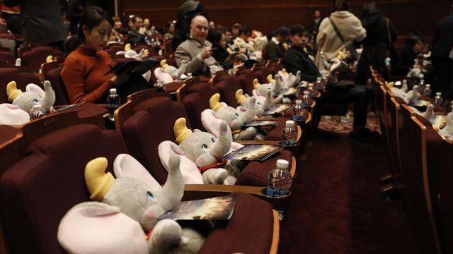 《小飞象》的合家欢路线并未收获积极的市场回应,在北美和中国内地均票房遇冷。  摄影/任玉明