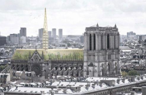 环保屋顶方案  来源:《法国西部报》