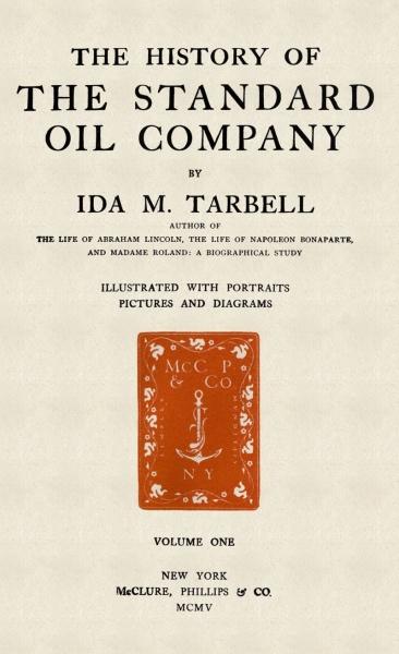《美孚石油公司史》初版本