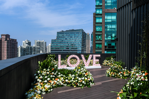 Love Blossoms(花.绽放)活动现场