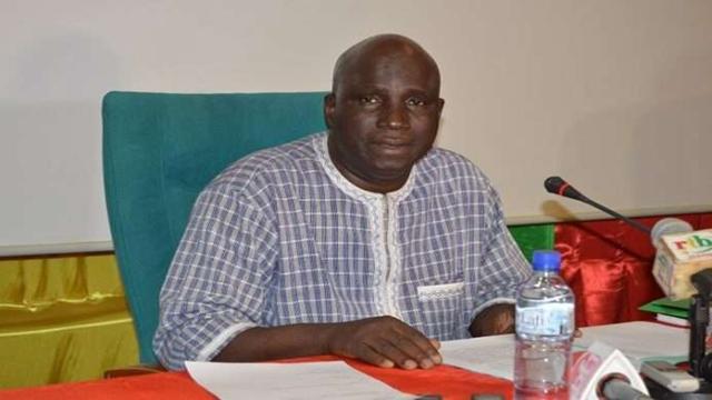布基纳法索农业和农业水利治理部长韦德拉奥戈(钱小岩/摄)
