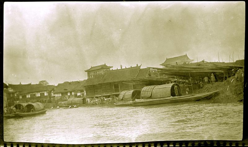 成都的码头,约1905年