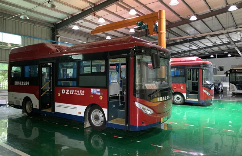 预计到2020年,中国氢燃料电池车辆将达到1万辆。  摄影/林春挺