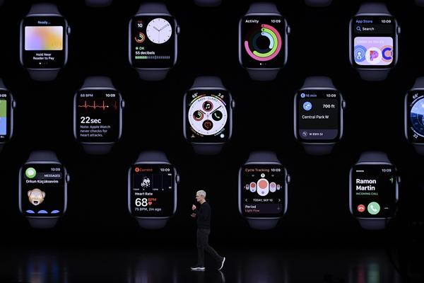 蘋果公司當天推出新一代蘋果手機、平板電腦、智能手表以及新的內容訂閱和服務項目。新華社