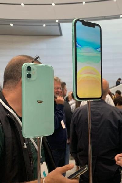 蘋果iPhone 11引入了新的配色。