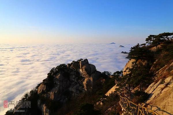 安徽天堂寨景區的云海。來源:天堂寨官網