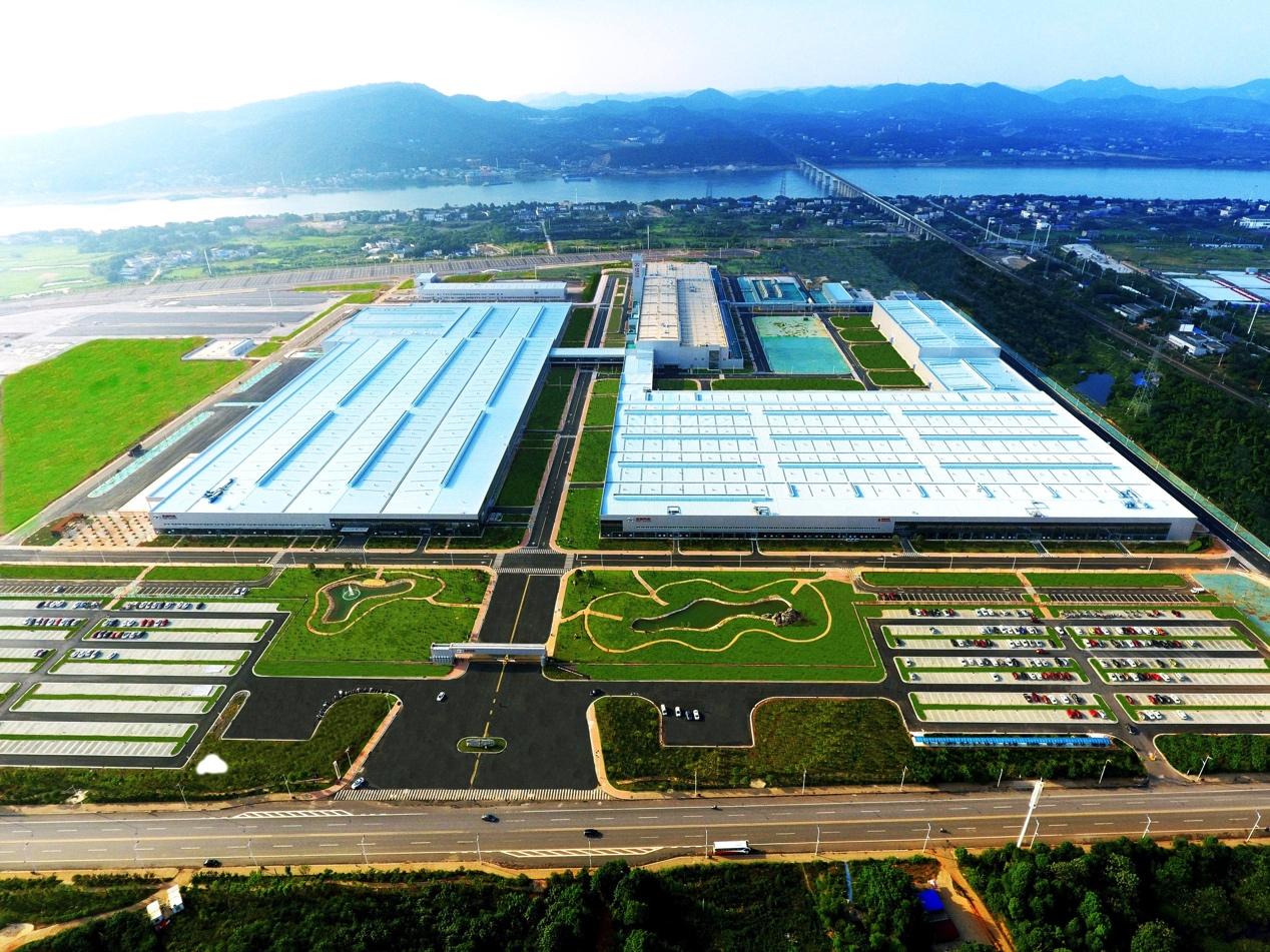 北京汽车株洲基地全景
