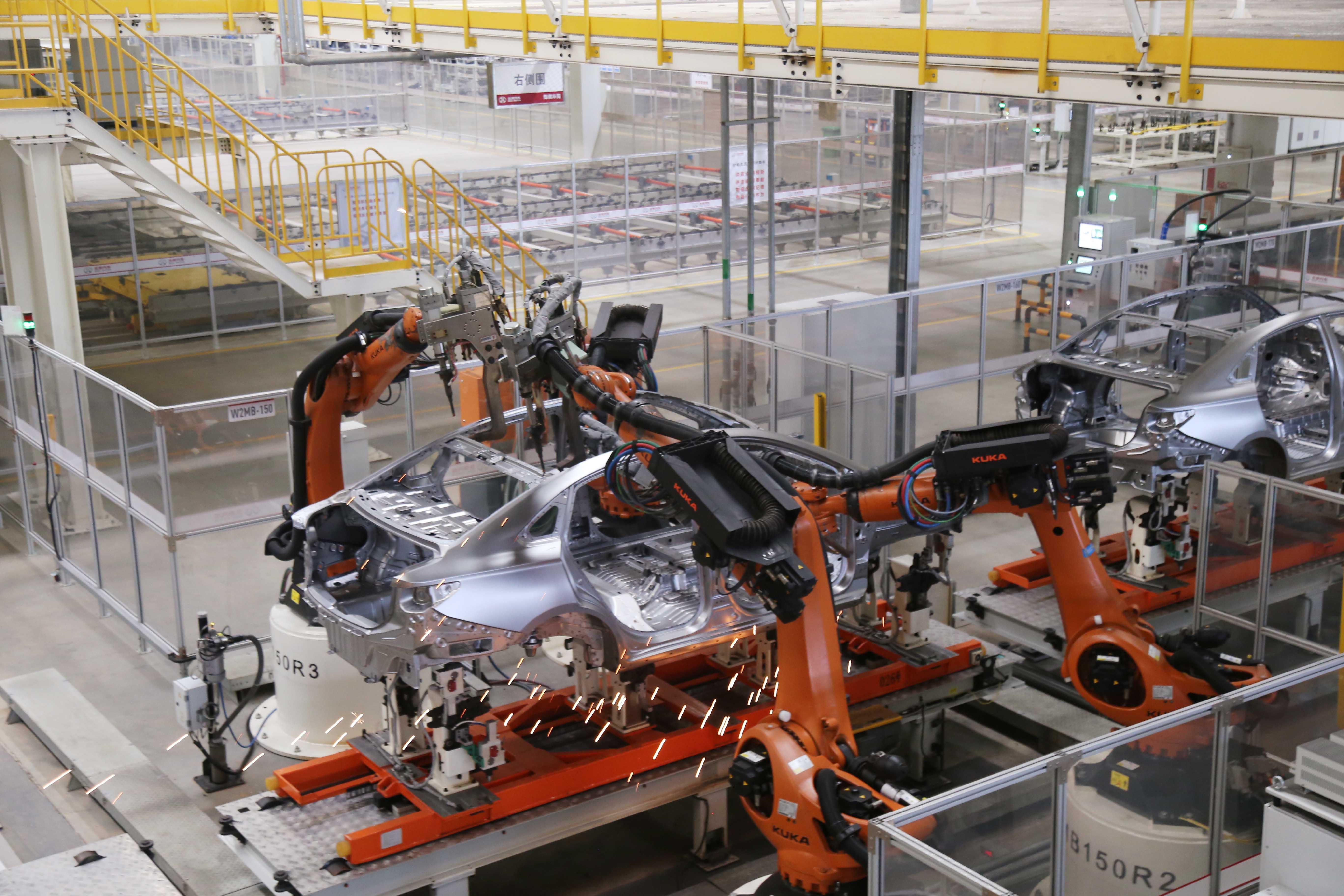 现代化智能工厂