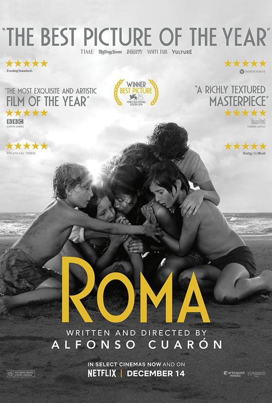 2019年奥斯卡颁奖礼,奈飞出品的《罗马》斩获包括最佳导演在内的三项大奖