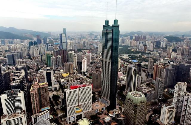 美丽中国是生态文明建设成果的集中体现。图为深圳市城市景观。摄影/章轲