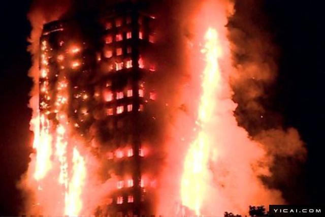 当地时间6月14日凌晨,伦敦西部一栋20余层的公寓大楼发生大火,火势猛烈,几乎蔓延到了所有楼层。报道称,消防局在当地时间凌晨1时16分左右接到了火警电话,伦敦消防队称,已经部署了40辆消防车和约200名消防员参与灭火。