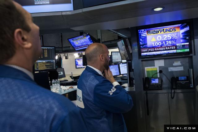北京时间15日凌晨2点美联储宣布,将基准利率区间调升25个基点,从0.75%-1.0%上调至1.0%-1.25%。美联储维持了近来每隔三个月加息1次的节奏,这是美国央行当前加息周期的第4次加息,今年内的第2次加息。美联储指出今年内将开始缩减资产负债表。具体而言,缩表起步阶段的上限为每月缩减100亿美元,其中国债为60亿美元、抵押贷款支持证券(MBS)为40亿美元。此后将逐渐增加,前者在12个月内每三个月增加60亿美元,后者一年内每季增加40亿美元,缩表的最终月上限是国债300亿美元、MBS 200亿美元,总计500亿美元/月。