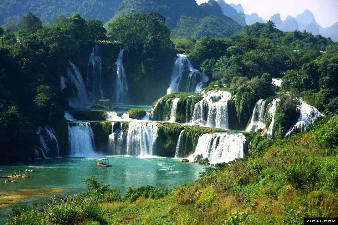 壁纸 风景 旅游 瀑布 山水 桌面 1080_720