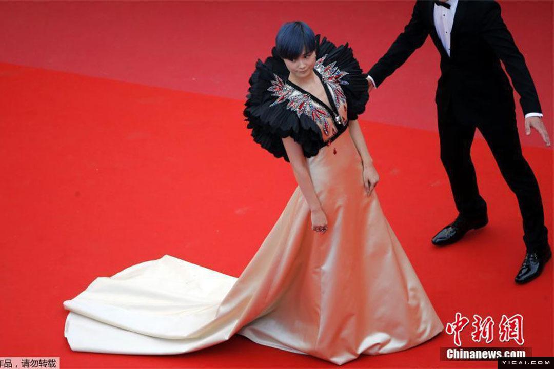第71届戛纳电影节亮相中国演员开幕红毯雷宇扬电影图片图片