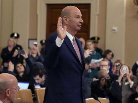 多图!一财记者直击特朗普弹劾案第四场听证会