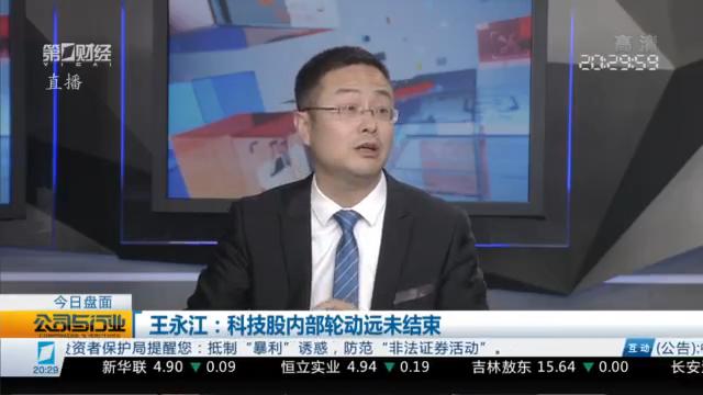 精选丨王永江:科技股内部轮动远未结束