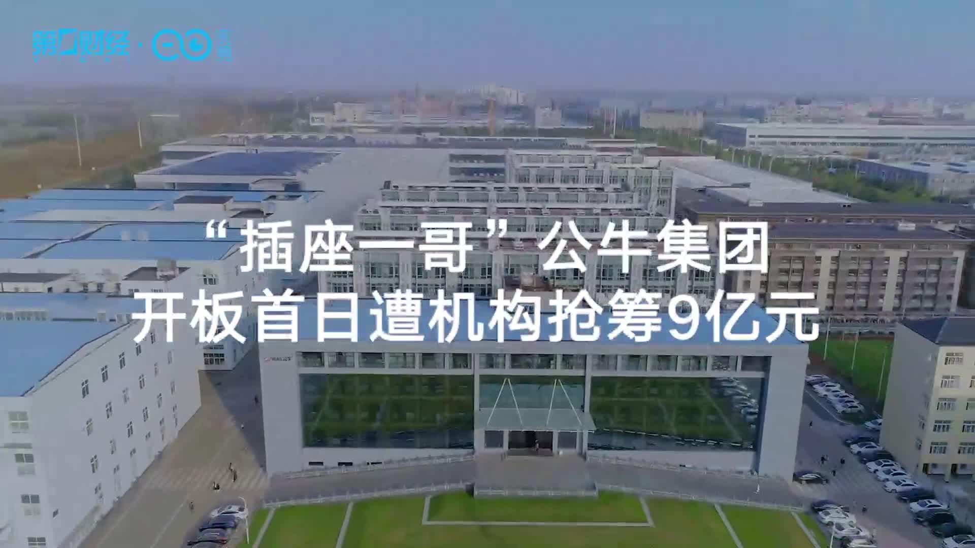 """""""插座一哥""""公牛集团开板首日遭机构抢筹9亿元丨热公司"""