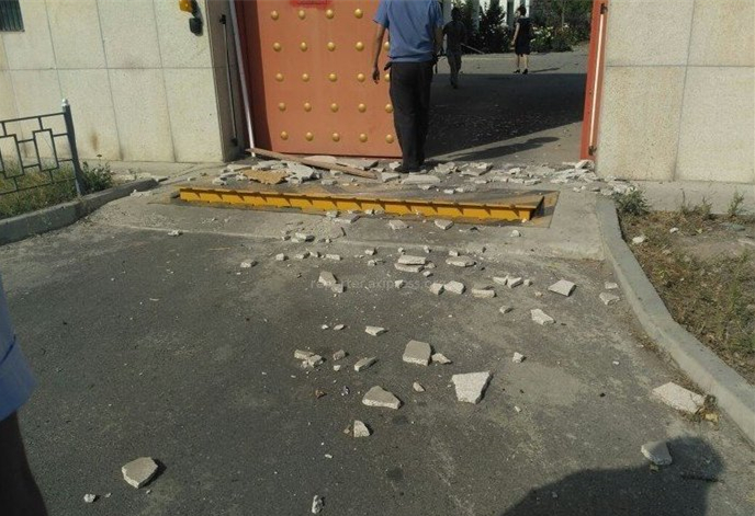 中國駐吉大使館遭汽車炸彈襲擊 襲擊者死亡(圖)