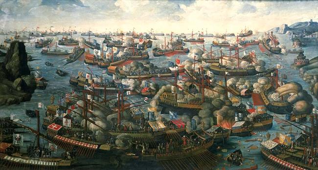 五六百年前,在地中海世界爆发了一系列漫长的冲突。这些冲突有几分像20世纪的冷战,他们以为本身是在为争取世界中心而战。